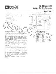 Download Data Sheet Rev - Analog Devices
