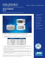 DIGITAL PEDOMETER XL-15
