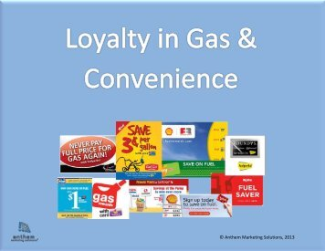 Ebook: Loyalty in Gas & Convenience - Anthem Marketing Solutions