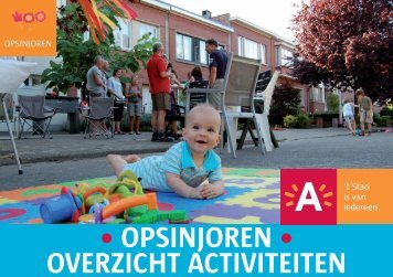 • OPSINJOREN • OVERZICHT ACTIVITEITEN - Stad Antwerpen