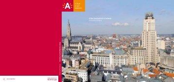 Urban development in Antwerp Designing Antwerp - Stad Antwerpen