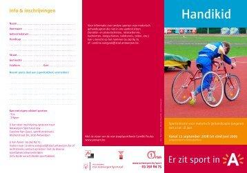 Handikid - Stad Antwerpen