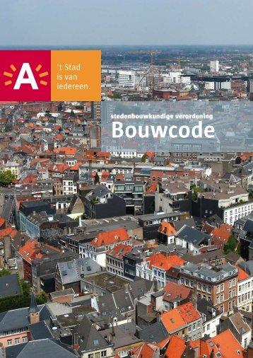 Bouwcode - Stad Antwerpen
