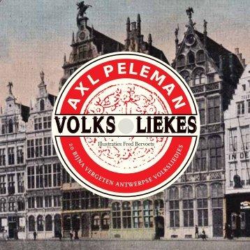 antwerpse volksliedjes - Stad Antwerpen