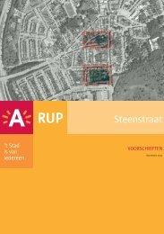Stedenbouwkundige voorschriften ( pdf ) (0,74 Mb) - Stad Antwerpen