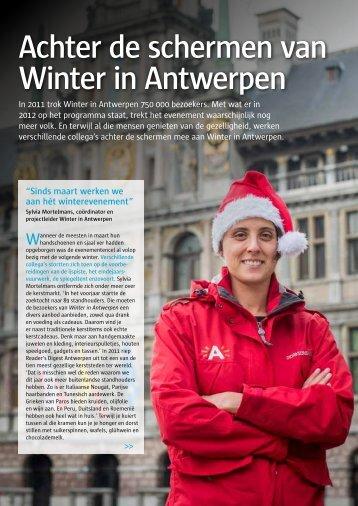 Achter de schermen van Winter in Antwerpen - Stad Antwerpen