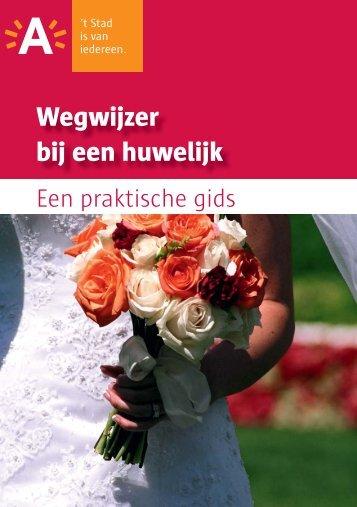 Wegwijzer bij een huwelijk - Stad Antwerpen