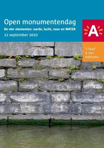 brochure OMD 2010 ( pdf ) (2,55 Mb) - Stad Antwerpen