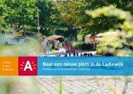 Naar een nieuw plein in de Cadixwijk - Antwerpen.be