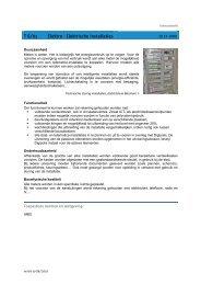 T 6/01 Elektro - Elektrische installaties - Antwerpen.be