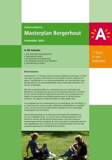 Nieuwsbrief Masterplan november 2010 ( pdf ) - Stad Antwerpen