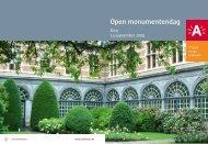 Open monumentendag - Antwerpen.be