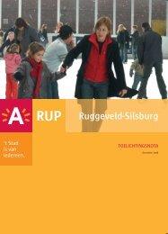 Toelicht RUP Ruggeveld-Silsburg deel 1 ( pdf ) (5 ... - Stad Antwerpen