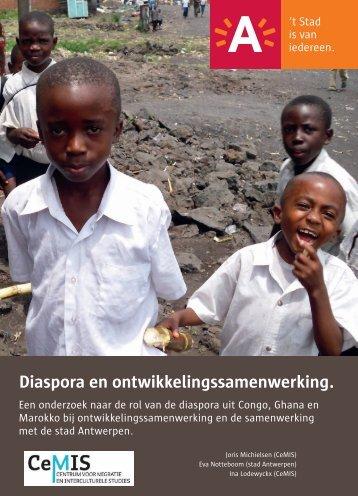 Diaspora en ontwikkelingssamenwerking ( pdf ) (2 ... - Stad Antwerpen