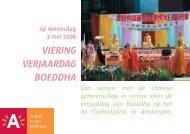verjaardag van Boeddha - Antwerpen.be