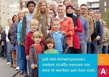 506 000 Antwerpenaars zoeken straffe mensen om ... - Antwerpen.be