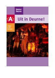 Uit in Deurne - Stad Antwerpen