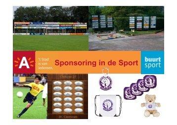 Sportsponsoring - Stad Antwerpen