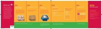Folder campagne Papier en karton ( pdf ) - Stad Antwerpen