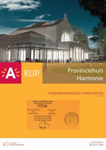Stedenbouwkundige voorschriften ( pdf ) (9,96 Mb) - Stad Antwerpen