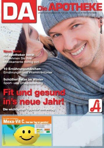 Fit und gesund in's neue Jahr! - Österreichische Apothekerkammer