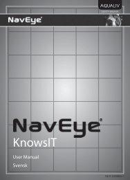 KnowsIT bruksanvisning - Aqualiv