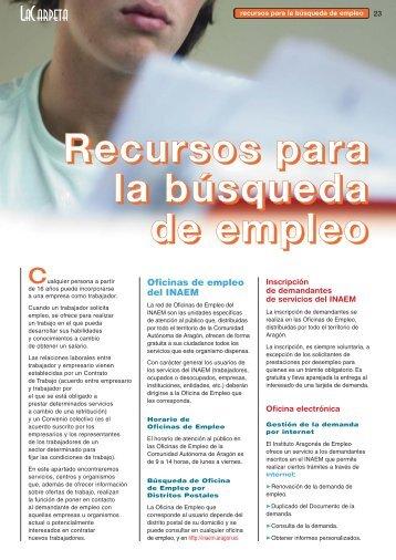 Información de - Gobierno de Aragón
