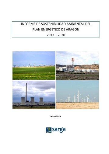 informe de sostenibilidad ambiental del plan energético de aragón ...