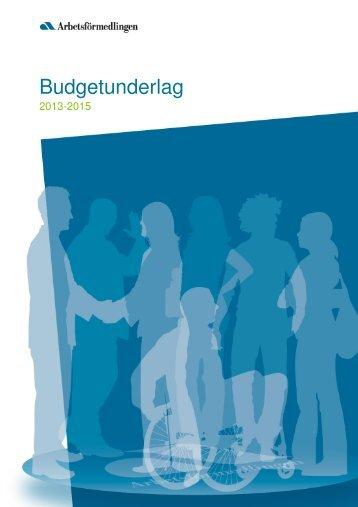 För år 2013-2015 - Arbetsförmedlingen
