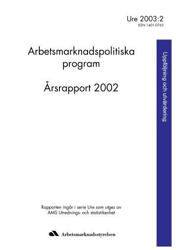 Läs rapporten - Arbetsförmedlingen