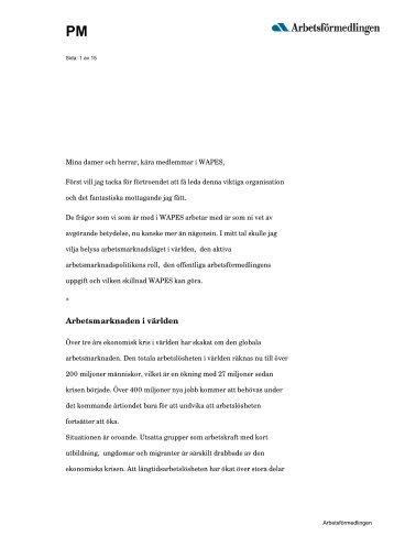 Talet på svenska - Arbetsförmedlingen