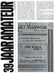 39 jaar Amateurfilmjournalistiek - historie nova