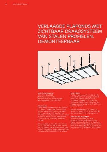 VERLAAGDE PLAFONDS MET ZICHTBAAR ... - Architectenweb