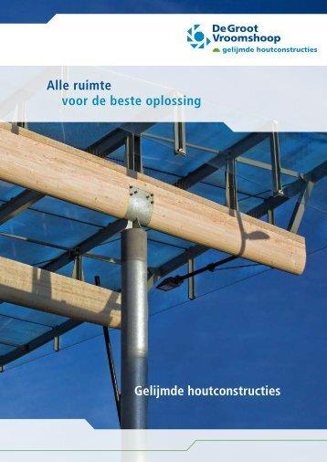 Gelijmde houtconstructies Alle ruimte voor de ... - Architectenweb