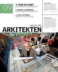 09 FEm sKA boRT - Sveriges Arkitekter