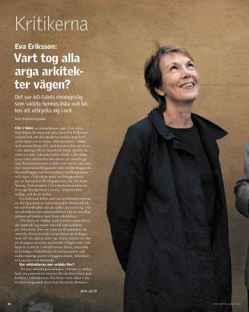 Kritikerna - Sveriges Arkitekter