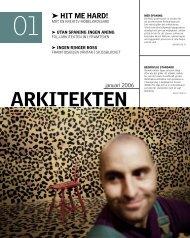arkitekten spanar - Sveriges Arkitekter