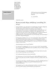 Remissyttrande Högre utbildning i utveckling, Ds 2004:2 - Sveriges ...