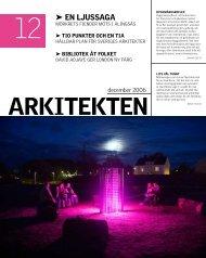 12 EN ljussAgA - Sveriges Arkitekter