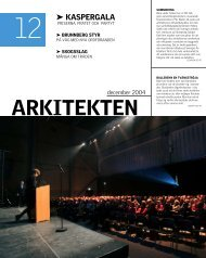 ARKITEKTEN - Sveriges Arkitekter