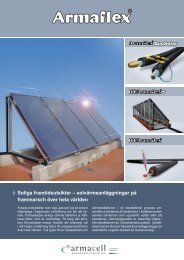 InfoFlyer Thermal Solar Systems SW - Armacell