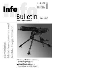 Bulletin Nr. 1/07 - Verein Schweizer Armeemuseum