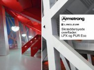 PUR- and LPX-coating - Armstrong