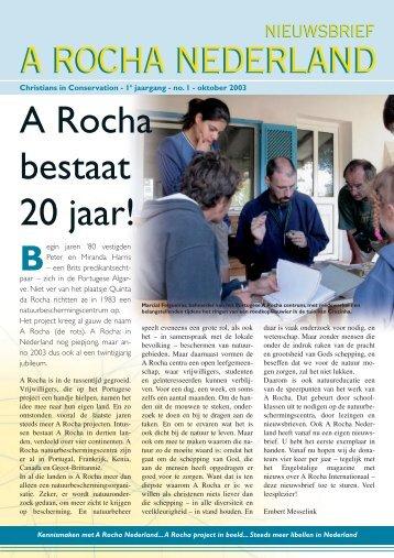 A Rocha bestaat 20 jaar!