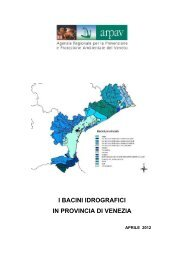 Bacini idrografici provincia di Venezia.pdf - Arpav