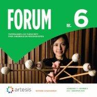 Forum 6, juli - augustus, jaargang 17 - Artesis