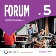 Forum 5, mei - juni, jaargang 19 - Artesis