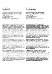 Persbericht Press release - Artfacts.Net