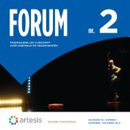 Forum 2, november - december, jaargang 18 - Artesis