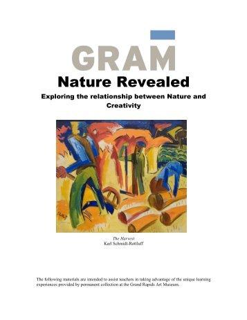 Nature Revealed Packet - Grand Rapids Art Museum